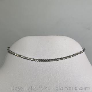APPRAISED 14k Diamond Tennis Bracelet