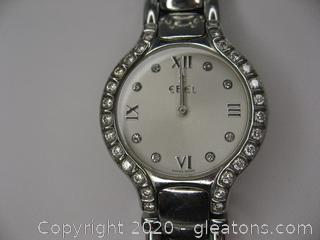 Ebel Beluga Ladies Watch with Diamonds Retails for $3,800