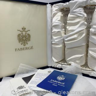 Faberge Michael Palace Candle Holders