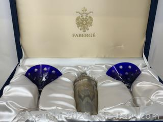 Faberge Grand Duke Martini Shaker Set