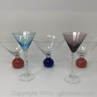 Collection of Martini Glasses