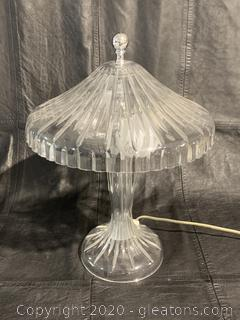 Waterford Crystal Lamp with Crystal Shade