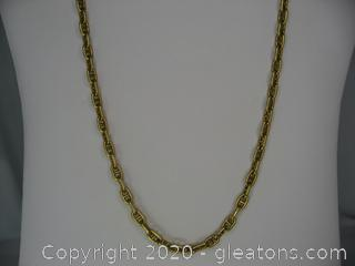 18kt Yellow Gold Anchor Chain