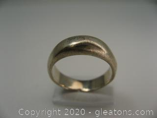Tiffany & Co. Sterling Silver Domed Ring