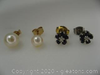 Lot Of Miscellaneous Earrings (4)