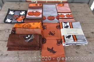 Halloween Linens Never To Late or Early to Stock Up