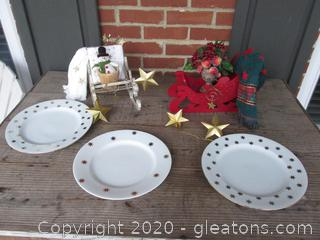Table Top Sleigh Rides and Star Studded Theme
