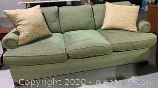 LIKE NEW Designer Sofa