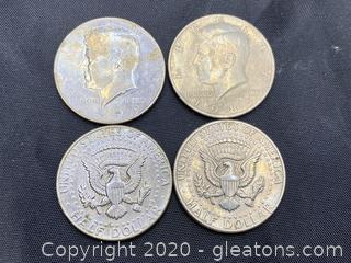 1979-1983 Kennedy Half Dollars