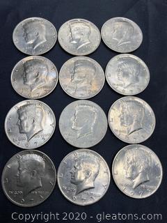 1973 Kennedy Half Dollars