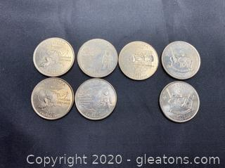 Collection of 2002 State Quarters