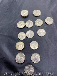 Collection of 2003-2006 State Quarters