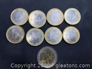 Collection of German Euros