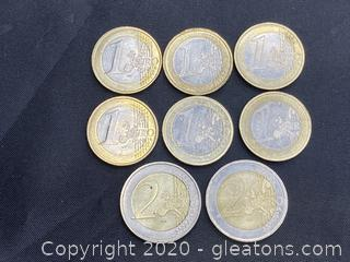 Collection of French Euros