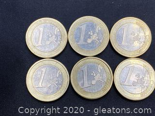 Collection of Spanish Euros