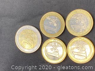 Collection of Greek Euros