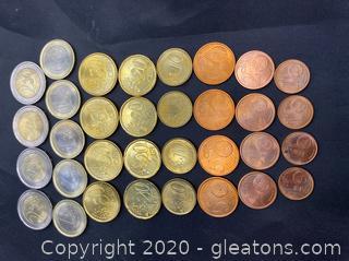 Collection of Italian Euros 2002