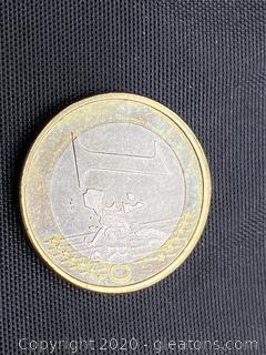2002 Letzebuerg 1 Euro