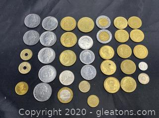 Collection of International Coins