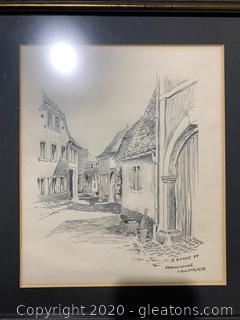 """Frankweiler Weinstrasse"" by B. Baker"