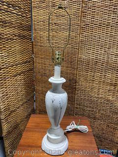 Handpainted Ceramic Table Lamp