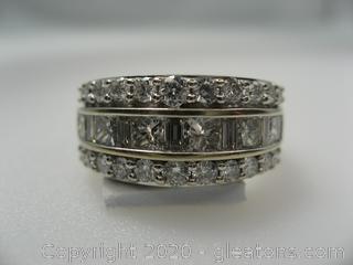Appraised 14kt 2 Carat Diamond Ring