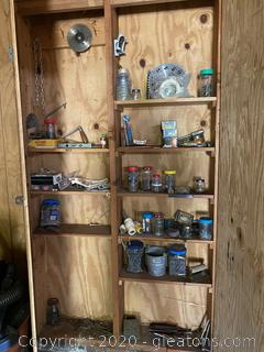 Collection of Tools and Hardware