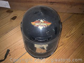 Harley-Davidson Helmet with Face Cover