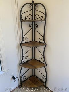 4-Shelf Corner Shelf