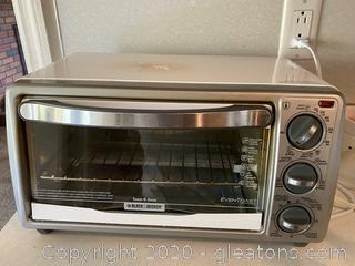 Black + Decker Even Toast Toaster Oven