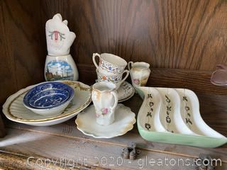 Collection of China & Tea Set Items