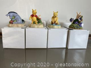 Lenox Winnie the Pooh Thimble Collection