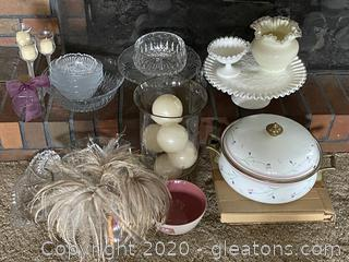 Collection of Glass Dishes