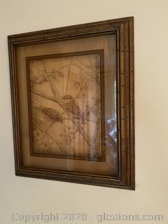 Glass Shadow Box Framed Art