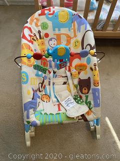 Infront To Toddler Rocker by Fisher Price
