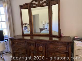 American Drew Dresser with Mirror