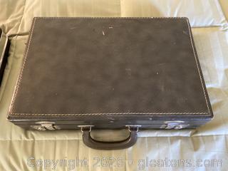 Pair of Vintage Suitcases/Briefcases