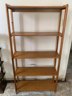 Backless Shelves