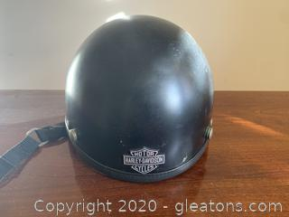 Haley Davidson Motorcycle Helmet