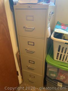 4 Drawer Filex File Cabinet