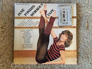 Jane Fonda's Work Out Tape