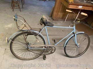 Vintage Bike W/Baby Seat