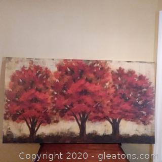 Trees in Fall Wall Art