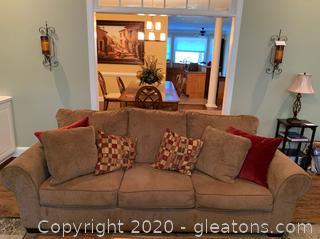 1170038 Ashley Furniture Galand Umber Upholstered Sofa