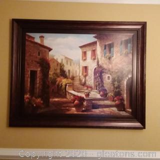 Framed Print- Tuscany