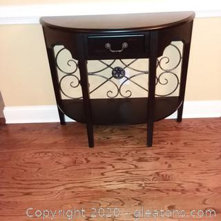 Addison Half Moon Console/Entry Table
