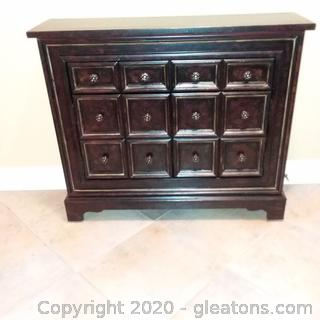 Haverty's Apothecary Chest/Brown