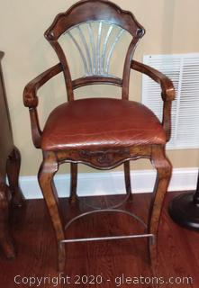 Lane Modified Shield Back Counter height Chair/Bar Stool