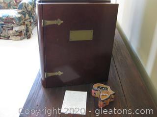 Memory Box by Bombay and Small Trinket Box