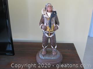 "Michael Garman Bronze Sculpture ""Another Mission"""
